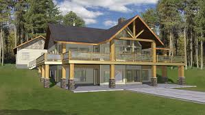 Vacation Home Plans   Homeplans com Bedroom A Frame Home Plan HOMEPW