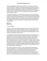 scholarship application essay example   emccscholarship application essay examples sample scholarship application