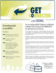get connected cedec interested in collaborating