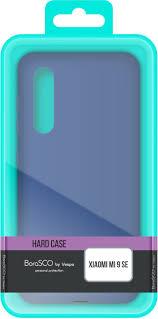 Чехол <b>BoraSCO</b> by Vespa <b>Hard Case для</b> Xiaomi Mi 9 SE, синий