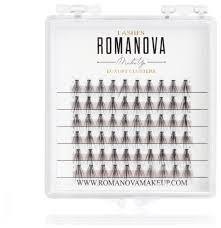<b>Romanova MakeUp Пучки M</b>-<b>Short Mini</b> 8 мм, 0.07 мм — купить по ...