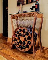 wine barrel furniture katie hughes i found another one for karl to create arched table top wine cellar furniture
