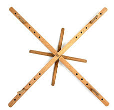 Stanwood Needlecraft Tabletop Amish <b>Style</b> Wooden <b>Yarn</b> Swift, 2.5 ...