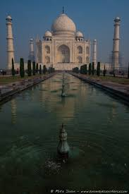 ing the magical taj mahal a nomadic existence the reflection pool leading towards the taj mahal