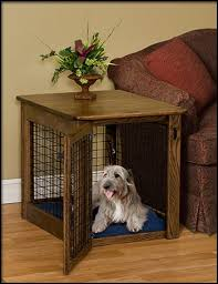 chewproof wood dog crates furniture style dog crates