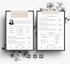 resume template cv template business card cover letter 🔎zoom