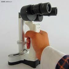 10X/16X <b>Handle</b> Slit Lamp Microscope Portable <b>Special</b> Eye ...