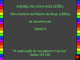 Resultado de imagem para imagens de DANIEL NA COVA DOS LEÕES