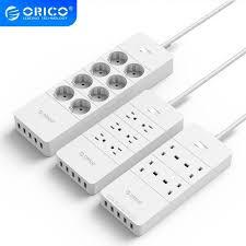 Best Discount #513b1 - ORICO Power Strip EU US <b>UK</b> Plug 4/6/8 ...