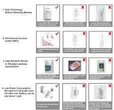 <b>outdoor</b> PIR sensor infrared detector <b>433Mhz</b> pet Immune ...
