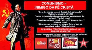 Resultado de imagem para comunistas contra a igreja