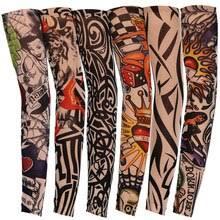 <b>Tattoo</b> Sleeve Arm Stockings Nylon Elastic Temporary <b>Tattoo</b> ...