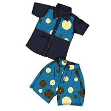 <b>African Children's Suits</b> Set Boys Clothing 2 Pieces top S... https ...