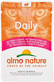<b>Almo Nature</b> Daily <b>Adult Cat</b> Complete No Gluten Wet Food with ...