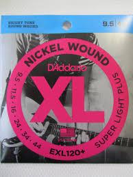 <b>D'ADDARIO EXL120+</b> Набор 6 <b>струн</b> для электрогитары
