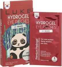 Luke <b>Гидрогелевые патчи для кожи</b> вокруг глаз против морщин, с ...