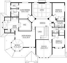 Impressive Luxurious Victorian House Plan   JD   nd Floor    Reverse Floor Plan Pinit white