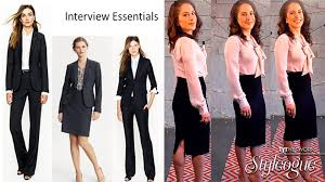 girls job interview outfit must have ana kasparian