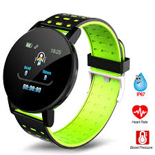 <b>119plus</b> Bluetooth Sports <b>Smart Bracelet</b> Men's and Women's Watch ...