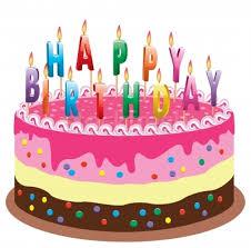 Resultado de imagem para imagens de bolo de aniversario