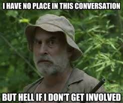 "The Walking Dead"" season two memes 