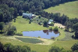 organic farm nc client news aerial view of bluebird hill farm