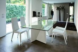Glass Top Pedestal Dining Room Tables Glass Dining Room Tables Overstockcom Round Dining Table With