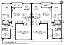 Duplex Home Plans at COOLhouseplans comORDER this house plan  Click on Picture for Complete Info