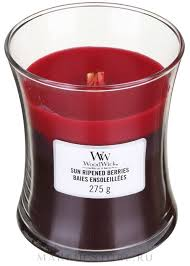<b>Ароматическая свеча</b> в стакане - WoodWick Hourglass <b>Trilogy</b> ...