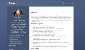 create online resume visualcv com