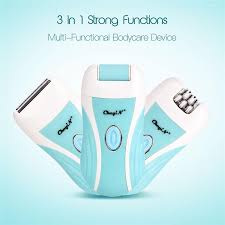 3 In 1 Women <b>Epilator</b> Electric <b>Hair Removal</b> Body Shaver Foot ...