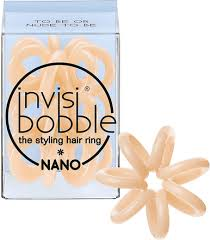 <b>Invisibobble</b> - <b>Nano - To Be</b> Or Nude To Be (3pk) - Angel Hair ...