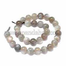 Wholesale Natural Moonstone Beads Strands, <b>Round</b>, <b>4</b>~4.5mm ...