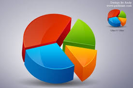 free chart psd files download d pie chart icon psd