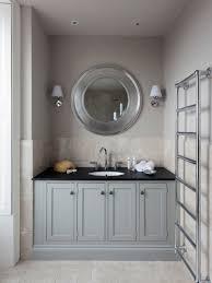shiny oak round bathroom mirror for small spaces with lighting on wall bathroom mirrors with lighting
