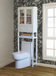 Small Wood Cabinet With Doors Furniture Great Space Saver Over The Toilet Cabinet Two Small