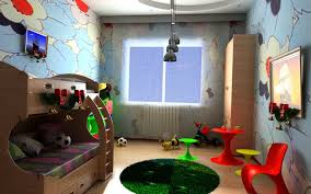 cool wonderful kids room wonderful kids bedroom design featuring cool wallpaper decor together with dark glass blue themed boy kids bedroom contemporary children