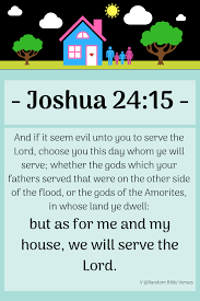 Random <b>Bible</b> Verses — <b>Joshua 24:15</b>, <b>Josué 24:15</b>
