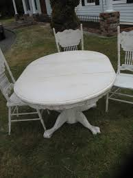 dining table chairs furniture french shabby chic dining tables uamp chairs for sale gumtree