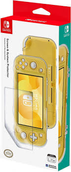 <b>Чехол и защитная плёнка</b> Hori для Nintendo Switch Lite - купить ...
