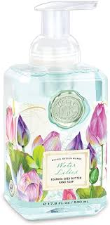 <b>Michel Design Works</b> Foaming Hand Soap - <b>Water</b> Lilies: Amazon ...