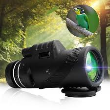 <b>40X60</b> HD Low-Light Night Vision Compact <b>Monocular</b> Telescope ...