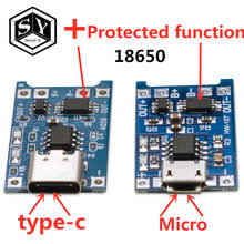 <b>1PCS Great IT 5V</b> 1A Micro USB 18650 type-c Lithium Battery ...