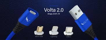 Volta 2.0 - <b>5A Super fast</b> charging Magnetic Cable   Drops 23.01.19 ...