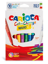 Набор <b>фломастеров CARIOCA</b> COLOR CHANGE <b>MAGIC</b>, 10 шт ...