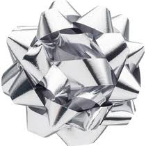 <b>Набор бантов</b> Winter Wings <b>Звезда для</b> декорирования металлик ...