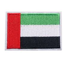 7CM <b>Embroidered Patch United</b> Arab Emirates National Flag Sew ...