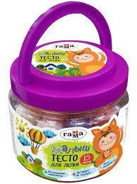 <b>Тесто для лепки</b> ГАММА «Малыш», 15 цветов, 375 г Гамма ...