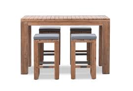 SHADOW2 <b>5 Piece Outdoor Bar</b> Setting | Amart Furniture