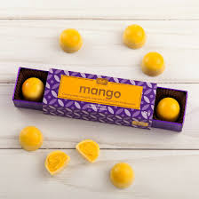 <b>White</b> Chocolate Mango <b>6 pc</b>